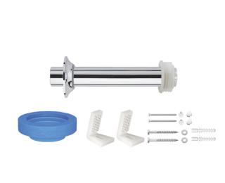 Kit de instalação para bacia convencional com fixação lateral