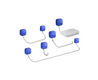 Kit de acessórios 7 peças
