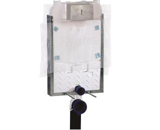 Caixa de descarga embutida para alvenaria para bacia suspensa