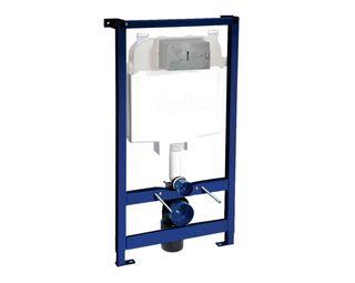 Caixa de descarga embutida para drywall para bacia suspensa