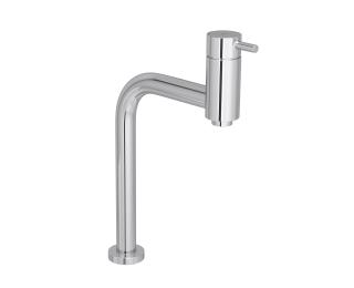 Misturador monocomando de mesa bica alta de 90 graus para lavatório