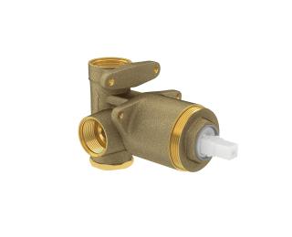 """Base monocomando de chuveiro para baixa e alta pressão 3/4"""""""
