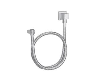 Kit flexível quadrado com suporte para ducha manual