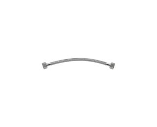 Ligação flexível malha de aço fêmea x fêmea 30cm