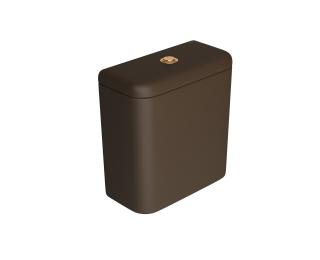 Caixa acoplada com acionamento Duo