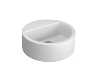 Cuba suspensa cilindrica com mesa