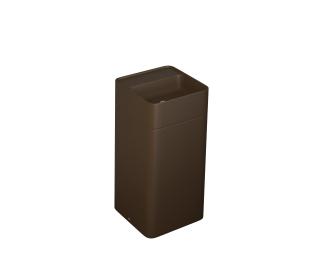 Cuba de piso quadrada com mesa